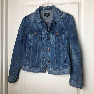 Denim jacket in Newton wash